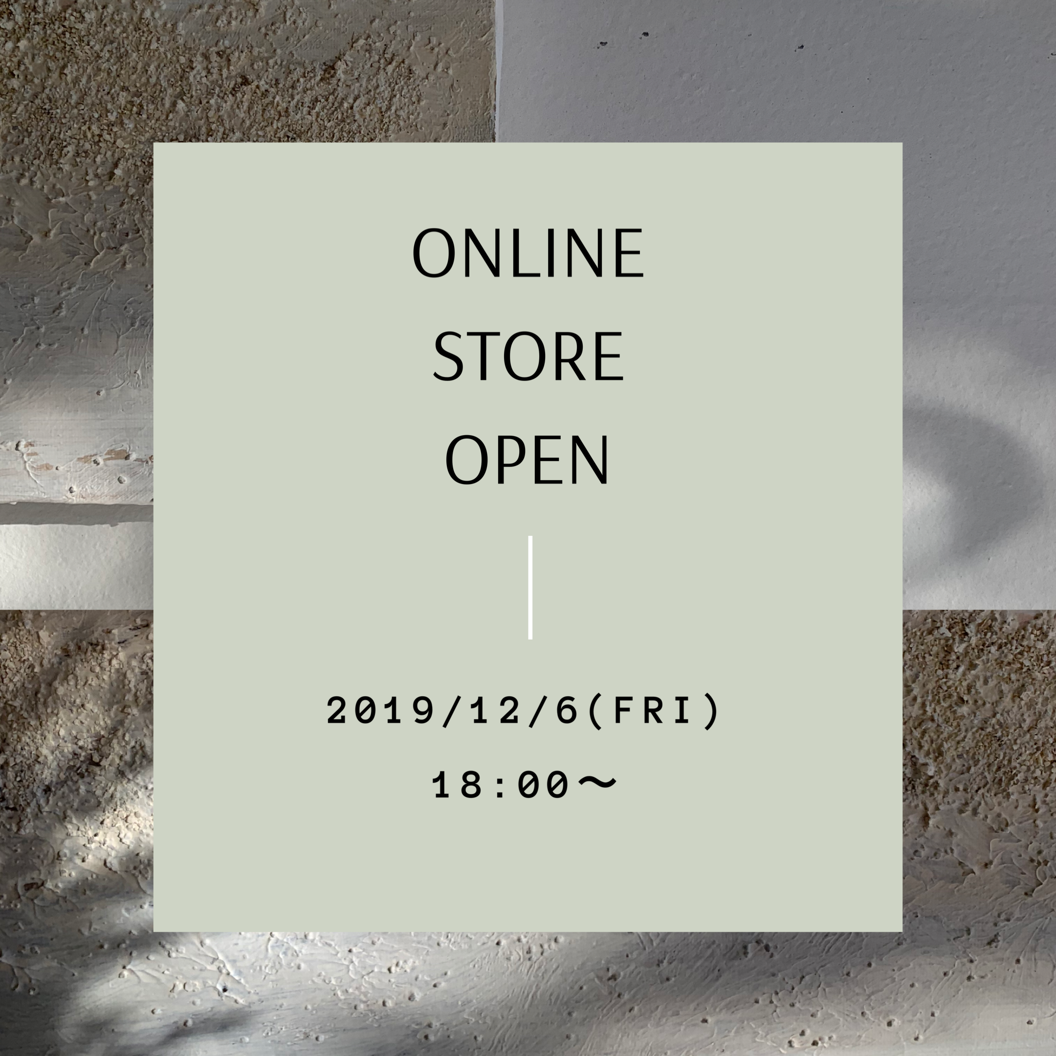 STORE OPEN のご案内