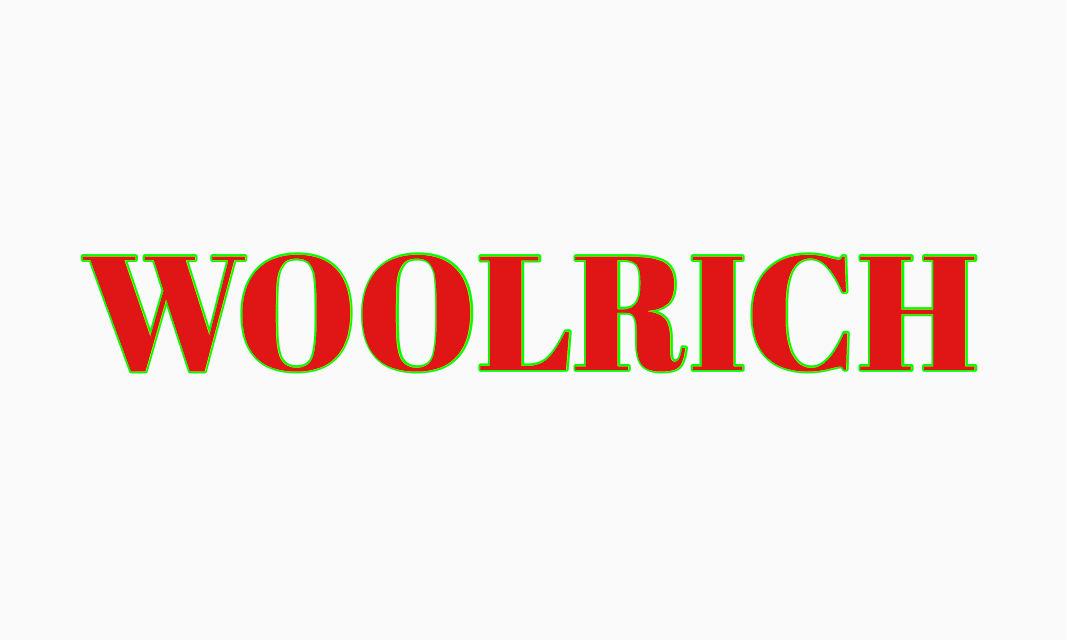 『WOOLRICH』