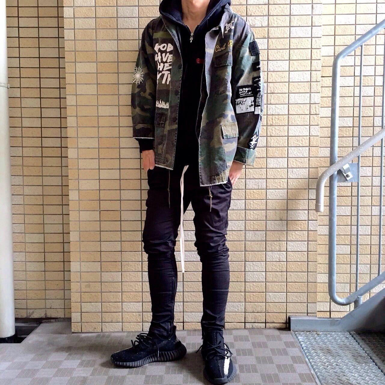 Civil Clothing Camo Jacket Bingostar ・ ビンゴスター