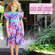 Coco and Ginger (ココアンドジンジャー)の花柄が可愛いパープルのサマードレス☆Inca Dress