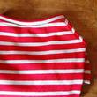 バスクボーダーシャツ(レッド×オフホワイト)
