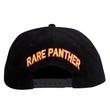 RARE PANTHER CORDUROY CAP   BLACK