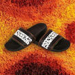 PSOCKADELIC SLIPPER SLIDE BLACK