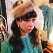vintage  リアル ミンクファー ヘッドドレス/古着 ビンテージ ヴィンテージ 帽子 ハット