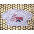 80s USA製 PUMA プーマ ショート丈 プリントTシャツ/古着 ビンテージ vintage