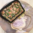 vintage ゴブラン織り ミニ ハンドバッグ/古着 ビンテージ