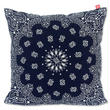 "CREIGHT BANDANNA COLLECTION ""CUSHION"" / NAVY"