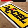 ACCEL sticker