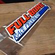 FULL BORE sticker