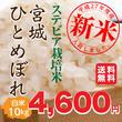 【新米予約販売開始】平成28年 度産宮城県産すてびあ栽培米ひとめぼれ「精米10Kg」