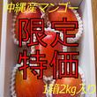 【贈答用の秀品/4玉入り】*予約受付中!*【沖縄県名護産】国産完熟マンゴー2kg/箱