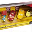 ディズニー・ピクサー カーズ  クロスロード マテル キャラクターカー Fireball Beach Race 4pk【TARGET限定】