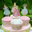【Meri Meri 】プリンセス I'm a princessシリーズ/カップケーキ キット&ケーキトッパー(45-0798)