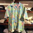 CLUB MED aloha shirt(L)