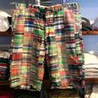 POLO RALPH LAUREN  patch work shorts