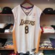 "Reebok ""NBA LosAngeles LAKERS/BRYANT 8"" basketball jersey (XL)"