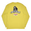 FUCKING AWESOME×THRASHER Trash Me L/S - Yellow