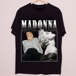 ROYAL TEES LONDON Madonna Tee-BLACK