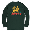 BUTTER GOODS JUDAH L/S TEE, FOREST