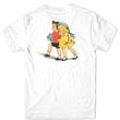 GIRL SKATEBOARDS STORYBOOK TEE-WHITE