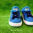 "● KID'S & BABY モデル ● PUMA 「 PUMA BASKET "" SESAME""  Cookie Monster (クッキーモンスター) 」"