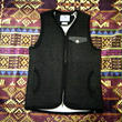 rulezpeeps 『SMILE WOOL ZIP VEST black』