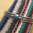 NAVAJO 『KINGMAN TURQUOISE BANGLE(HENRY MARIANO)』