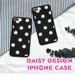 [NW081] ★ iPhone SE / 5 / 5s / 6 / 6s / 6Plus / 6sPlus / 7 / 7Plus ★ シェルカバー ケース花柄 デイジー パターン