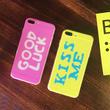[NW095] ★iPhone 6 / 6s / 6Plus / 6sPlus / 7 / 7Plus ★  シェルカバー ケース メッシュ ロゴ メッセージ iPhoneケース