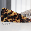 Barrette -triangle- Amber/Space