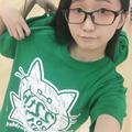益田えみ生誕記念Tシャツ(グリーン3色)