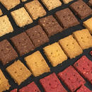 ベジかっでクッキー (6枚入)[すくすくやさい畑]