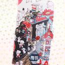 手帳型スマホケース【三丁目の赤いひまわり】