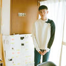 kudos / ASYMMETRY SWEATER - WHITE