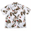 Two Palms / Hawaiian Shirt Orchid - WHITE