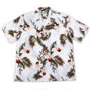 Two Palms / Hawaiian Shirt Orchid - WHITE