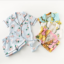 kids★fruit  print pajamas