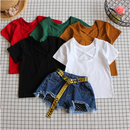 kids★back crossing T-shirt