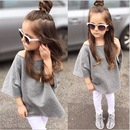 kids★off shoulder  sweat tops