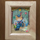 猫髭サーカス団【ジャグリング】ミニ原画