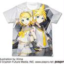 鏡音リン・レン V4X フルグラフィックTシャツ  [鏡音リン・レン V4X]