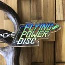 FLYING POWER DISC アクリルキーホルダー ロゴ【データイースト】