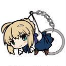Fate/stay night [UBW]セイバーつままれキーホルダー  [Fate/stay night]