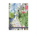 メール便発送商品 / 01216 Christian Lacroix Jardin Exo'chic A5 Notepad / クリスチャンラクロワ ジャルダン エキゾチック A5 ノートパッド