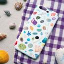 【受注生産】iPhoneケース:石ころケース-light brown-