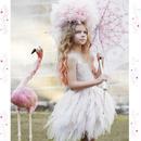 Tutu du monde★/ フワフワのチュールスカートが上品でガーリーなチュチュドレス☆インポート子供服  チュール ジュニア
