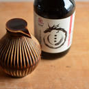 大江憲一さん&梶田商店 醤油差し(茶) +再仕込み醤油のset4