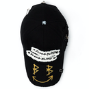 Blackblond BBD Big Smile Patch Logo キャップ (Black)