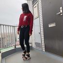 Swallowtale PVC Red/Black Stripe long sleeved T-shirts