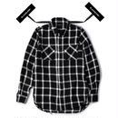 Blackblond BBD Plaid Tweed Shirt (Black)